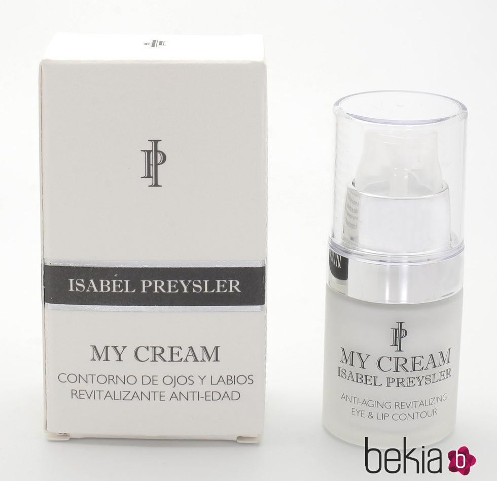 'Contorno de Ojos y Labios Revitalizante Anti-aging' de la línea 'My Cream' de Isabel Preysler