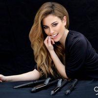 Blanca Suárez como imagen de las nuevas tenacillas de ghd