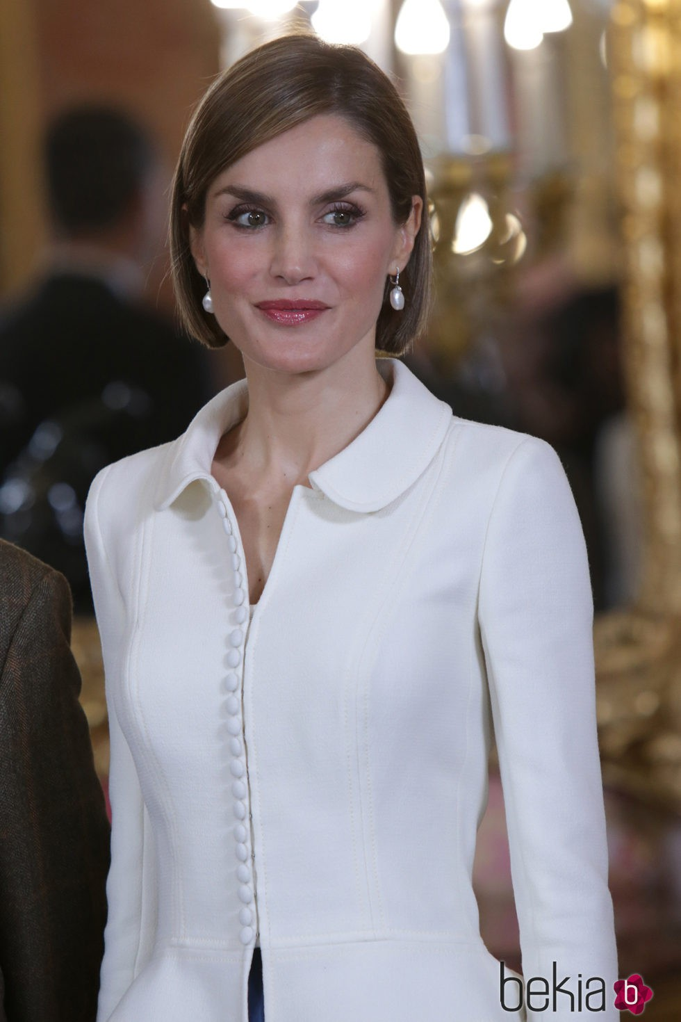 La Reina Letizia con un corte de pelo bob
