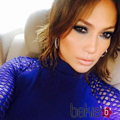 Jennifer Lopez se corta la melena