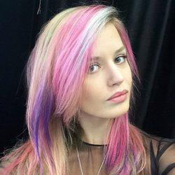 Georgia May Jagger pelo arco iris