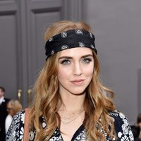 Chiara Ferragni en el front row de Paris Fashion Week 2016