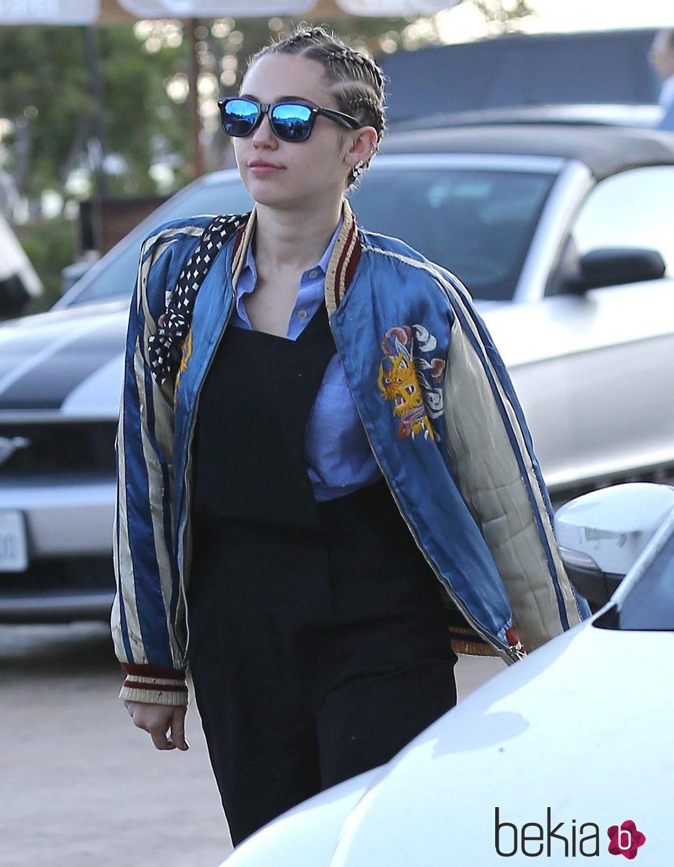 Trenzas jamaiquinas al estilo Miley Cyrus