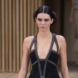 Kendall jenner peinada al estilo de la Princesa Leia para Chanel