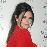 Recogido de Kendall Jenner con dos flequillos