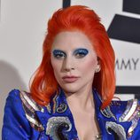Lady Gaga con su look tributo a David Bowie