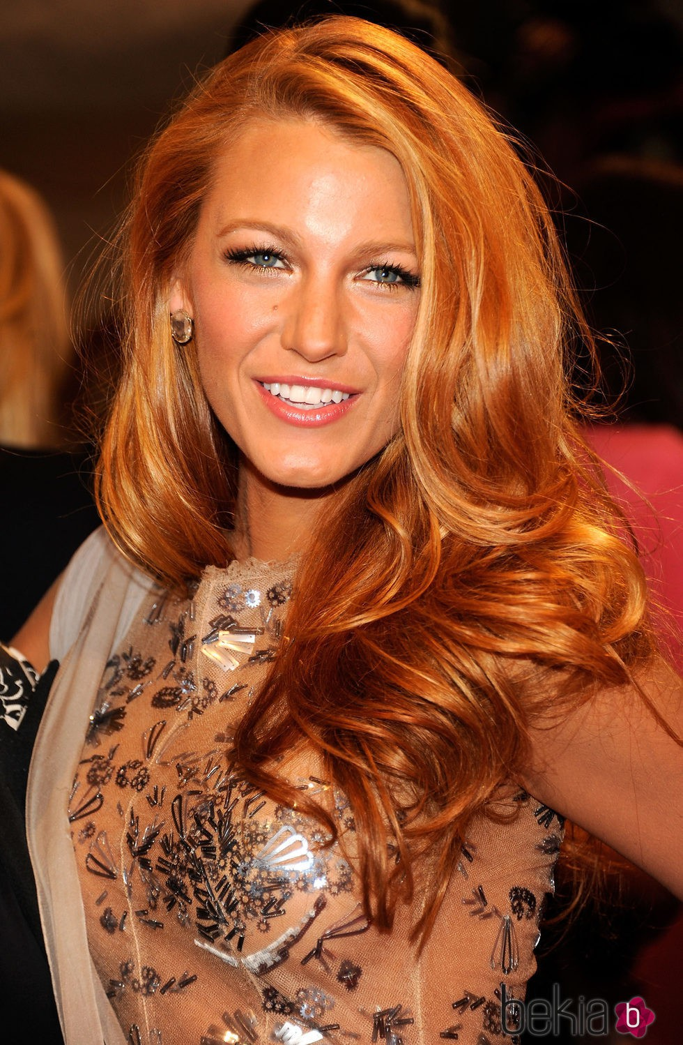 Blake Lively en Alexander McQueen: Savage Beauty Costume Institute Gala en 2011