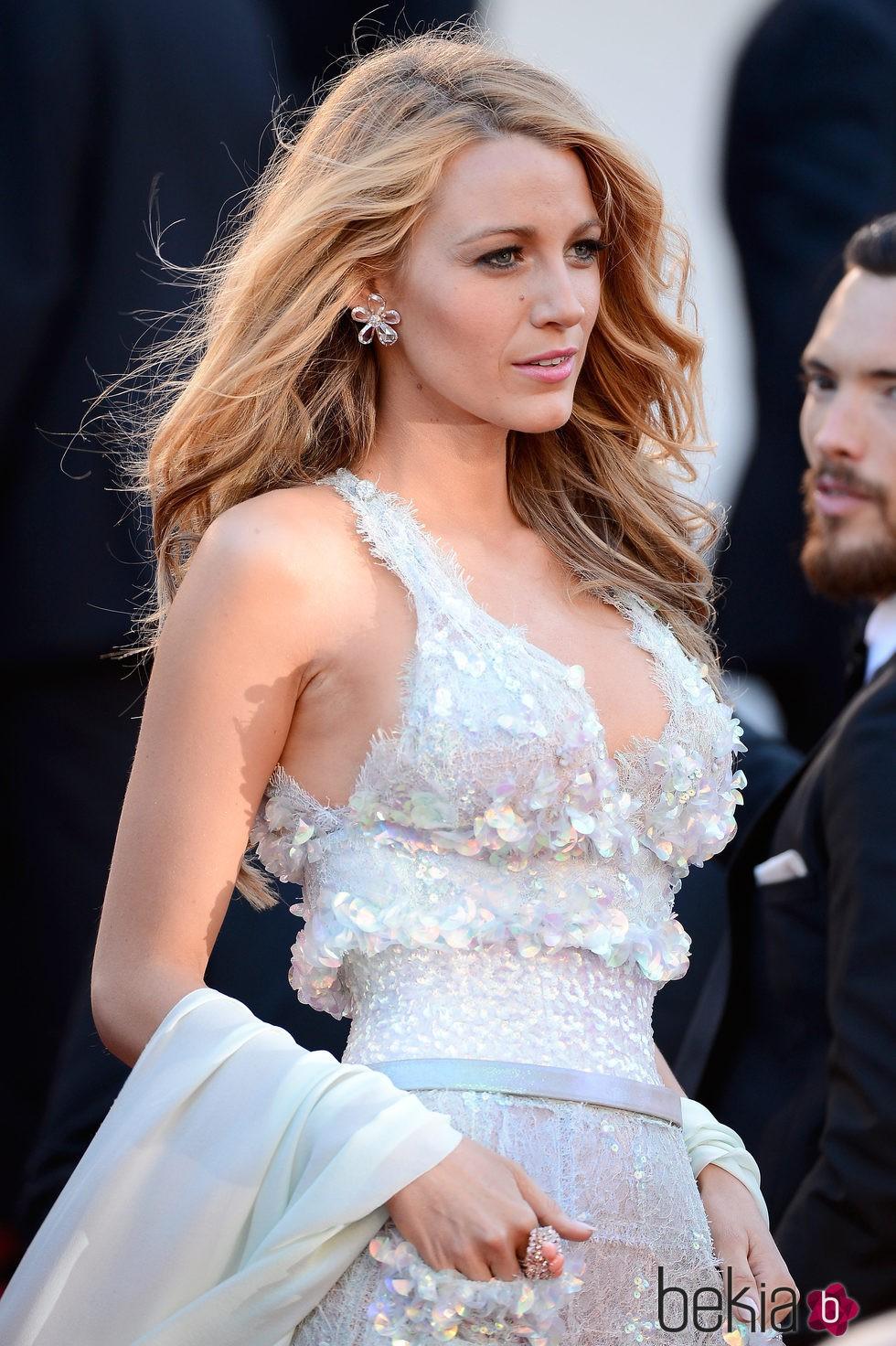 Blake Lively en el estreno de Mr.Turner de Cannes en 2014