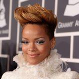 Rihanna en la ceremonia de los Grammy en 2010