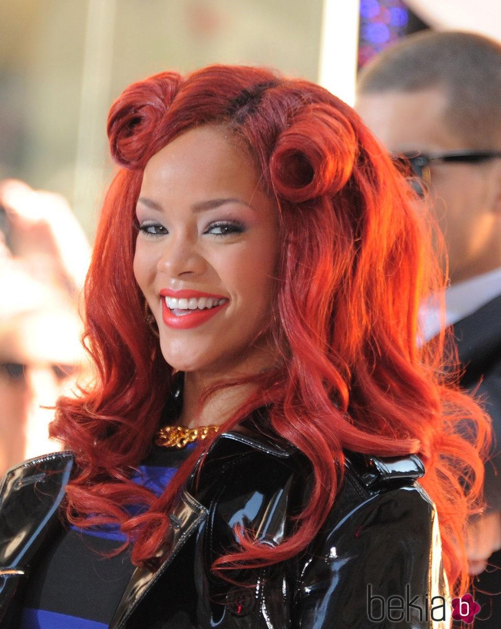 Rihanna en el show de la NBC ' Today' en 2011