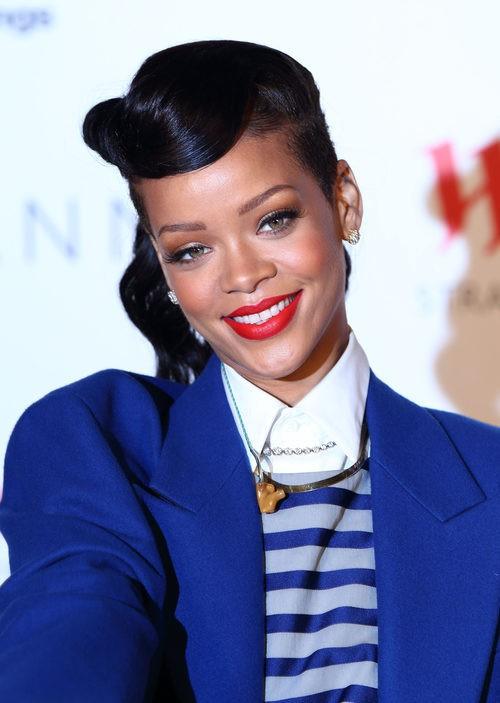 Rihanna en Westfield Stratford Lights Switch On en 2012
