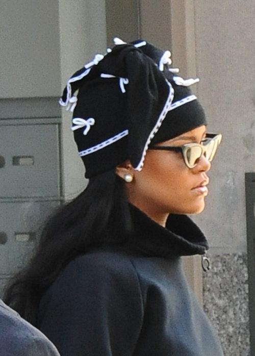 Rihanna con aspecto de 'homeless' por las calles de Nueva York