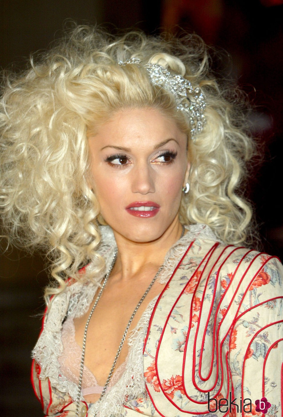 Gwen Stefani en los Brit Awards 2005