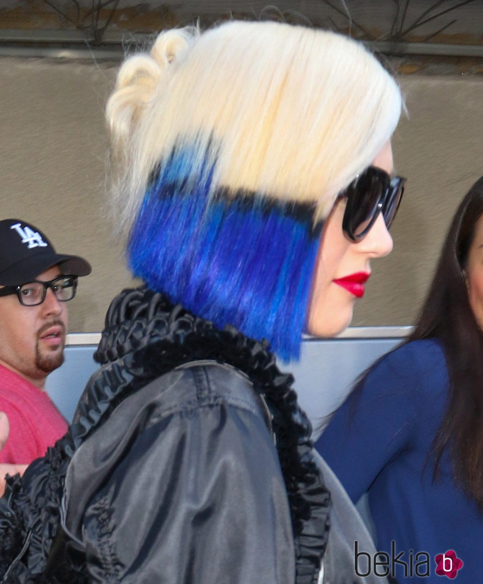 Gwen Stefani en Los Angeles 18 de octubre de 2015