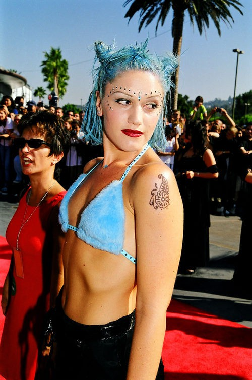Gwen Stefani en 1998 MTV Video Music Awards