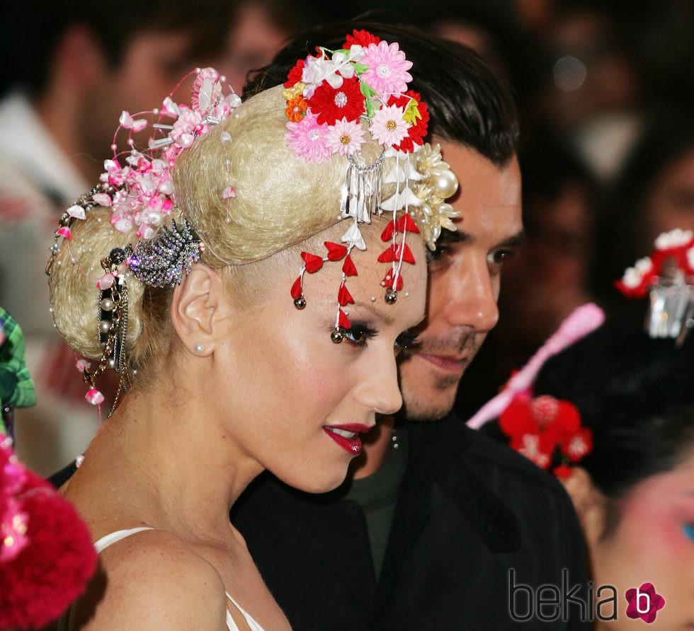Gwen Stefani en 2004 MTV European Music Awards