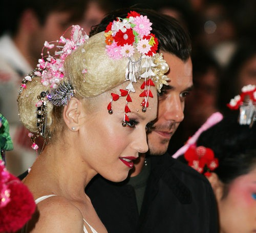 Gwen Stefani en 2004 MTV European Music Awards