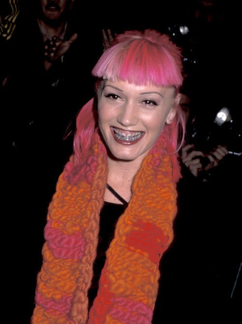 Gwen Stefani en 1999 en el Opening of the Christian Dior Boutique