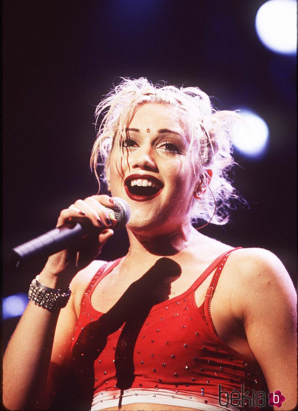 Gwen Stefani en 1997 No Doubt in Concert