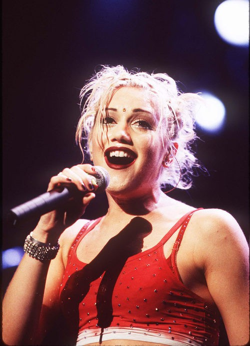 Gwen Stefani en 1997 No Doubt in Concert