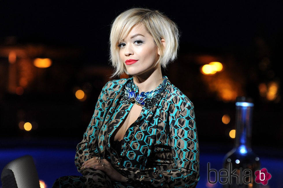 Rita Ora en 2014 Belvedere Vodka's Cannes party