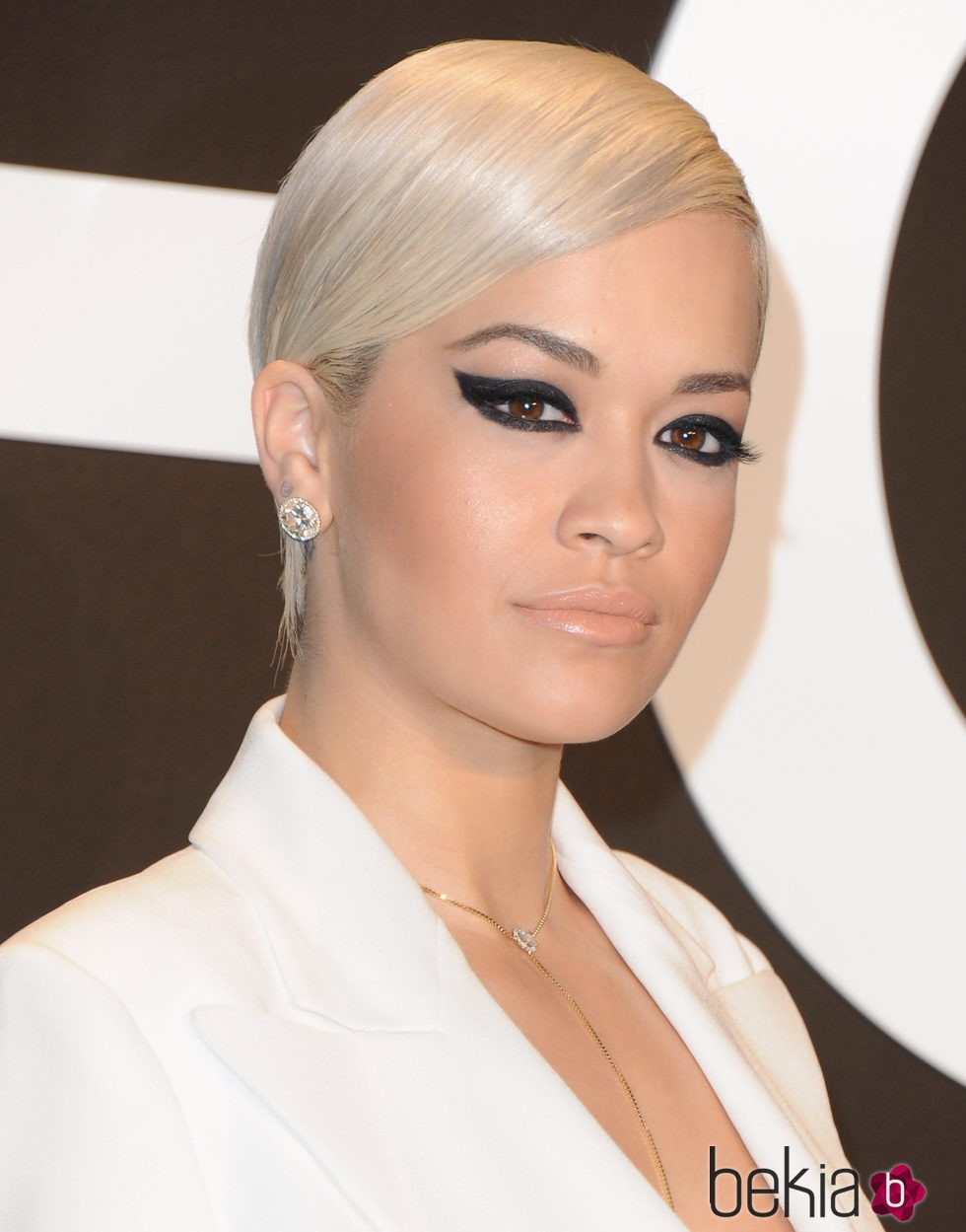 Rita Ora en la presentacion de Tom Ford otoño/invierno 2015 Womenswear Collection