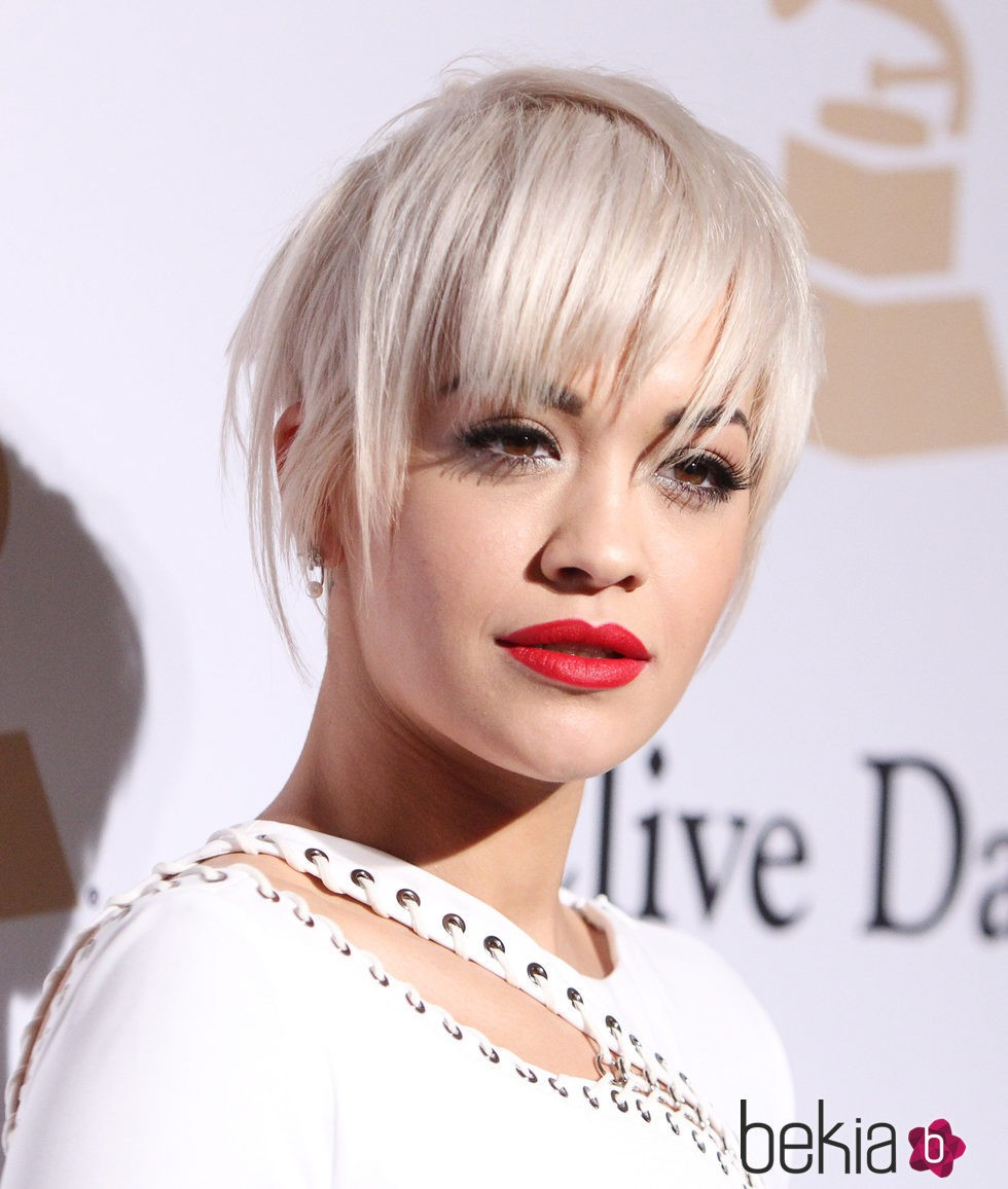 Rita Ora en The Grammy Awards Pre-Grammy Gala 2015