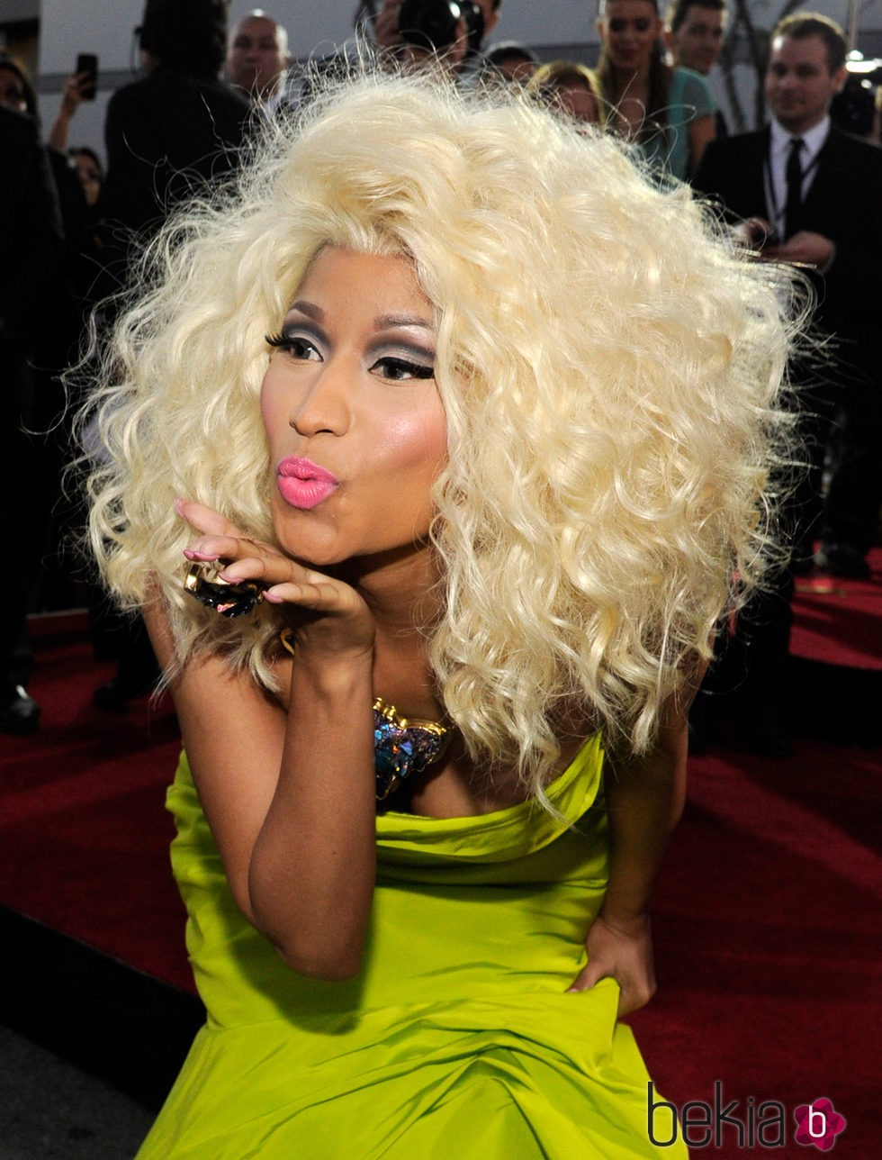 Nicki Minaj en The 40th American Music Awards de 2012