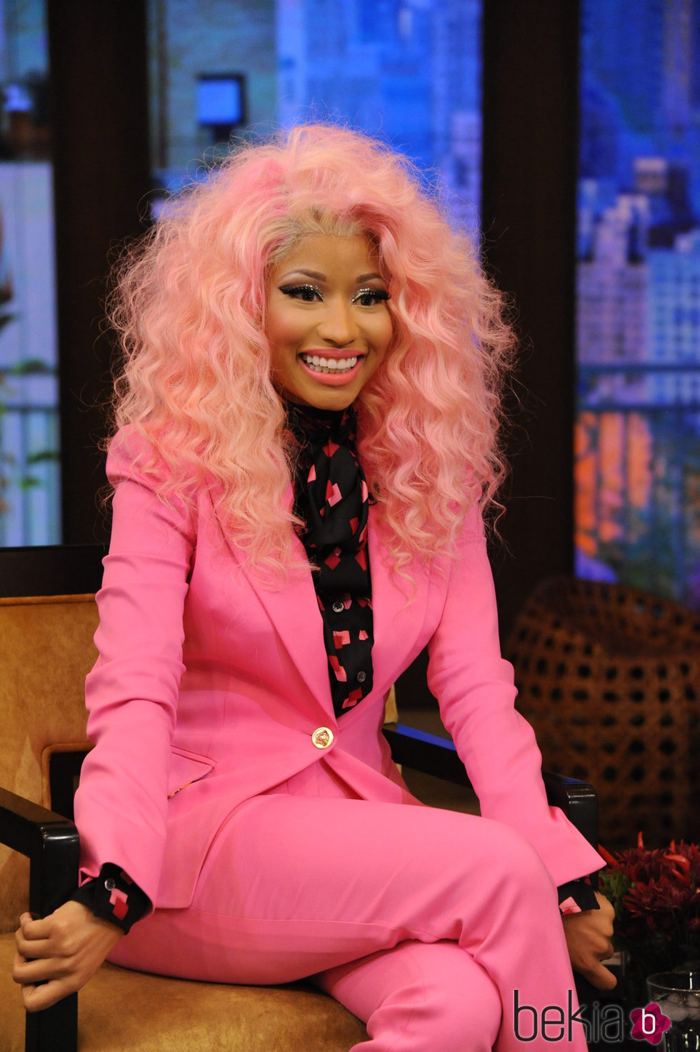 Nicki Minaj en ABC's 'Live! With Kelly' - 2012