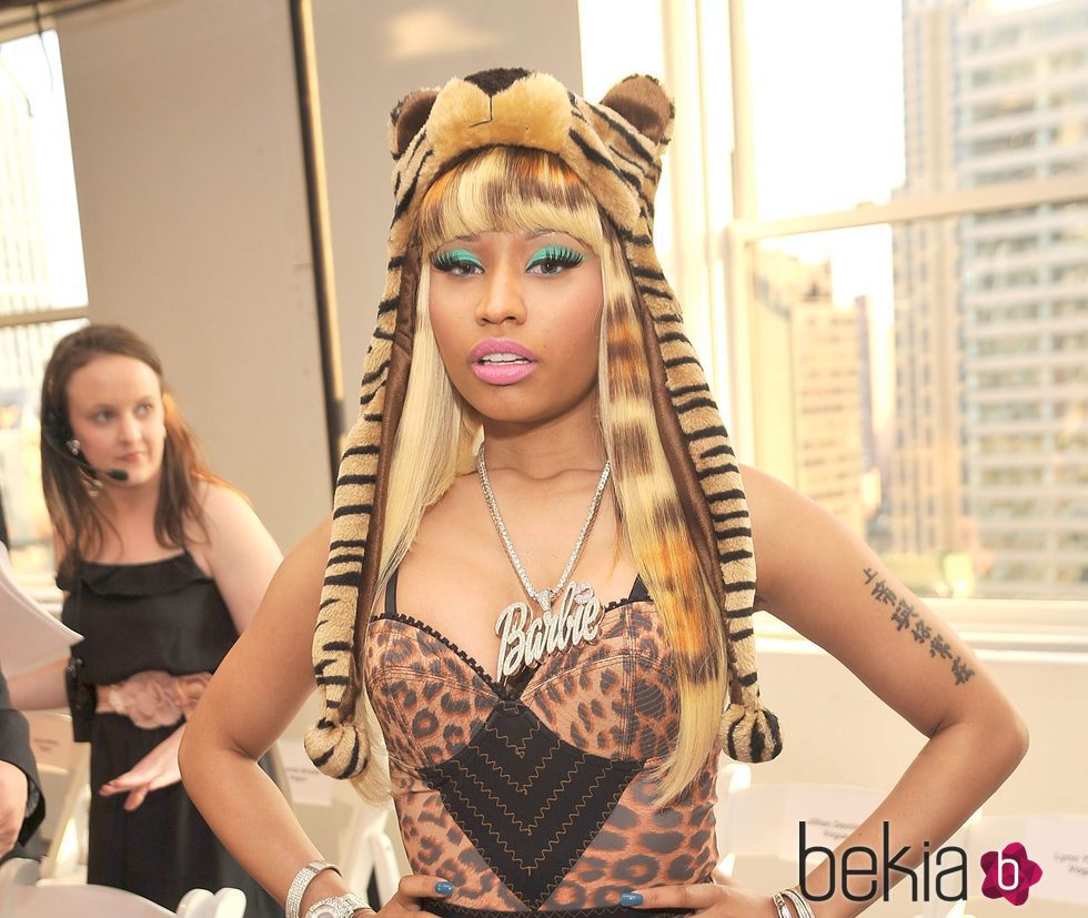 Nicki Minaj en el Oscar De La Renta - Front Row  2011