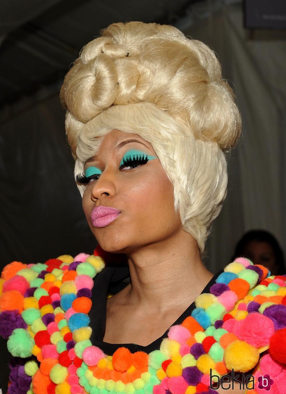 Nicki Minaj en  2011 Carolina Herrera - Front Row