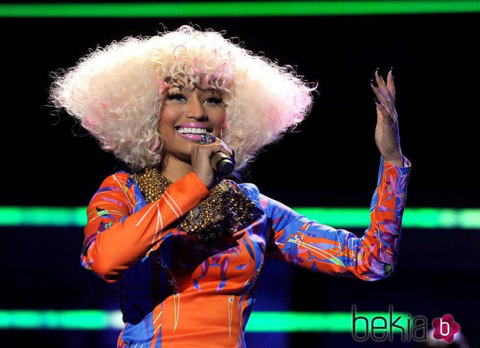 Nicki Minaj en  2010 The USO Presents 'VH1 Divas Salute The Troops' - Show