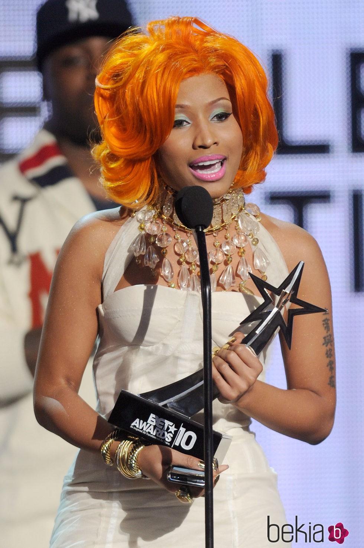 Nicki Minaj en BET Awards '10