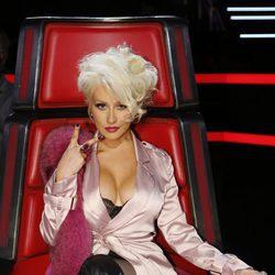 Christina Aguilera en La Voz americana