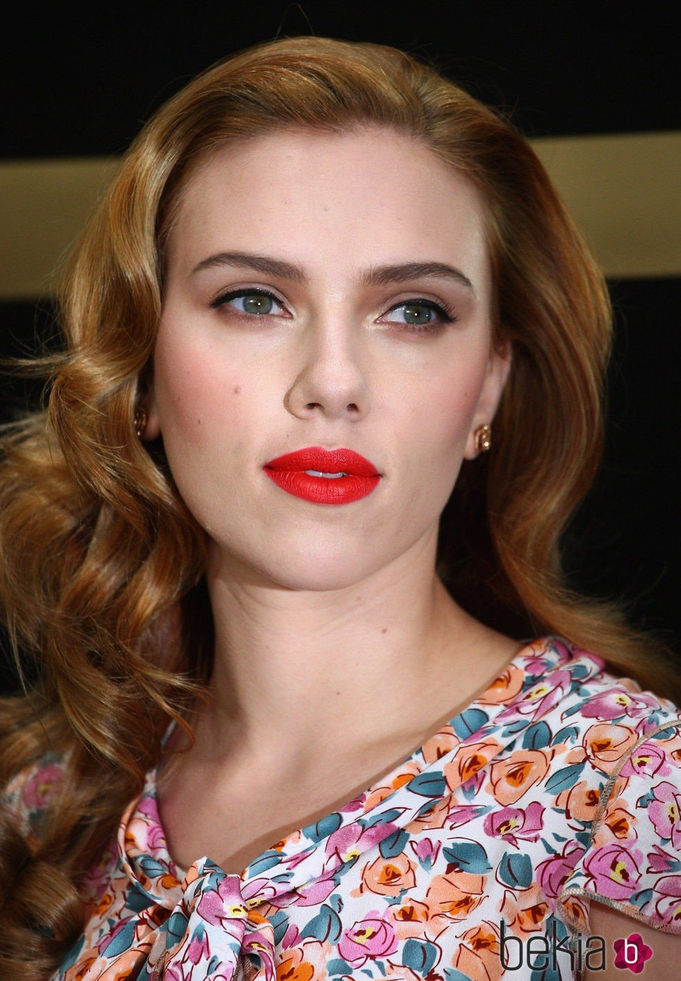 Scarlett Johansson en  2009 Dolce & Gabbana: The Make Up