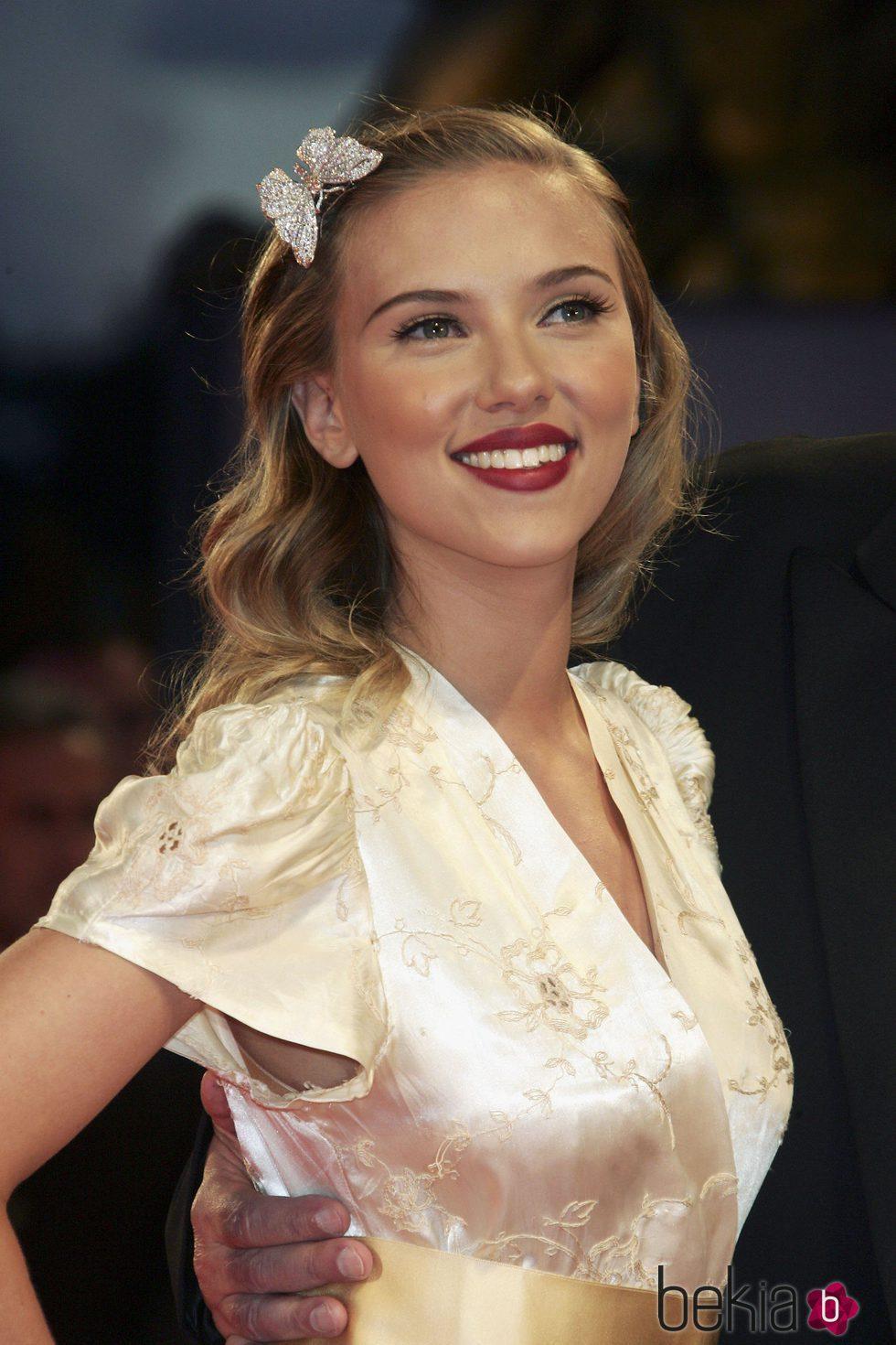Scarlett Johansson en 2006 63rd Venice Film Festival