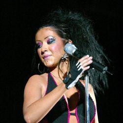 Christina Aguilera en 102.7 KIIS FM's Wango Tango 2003