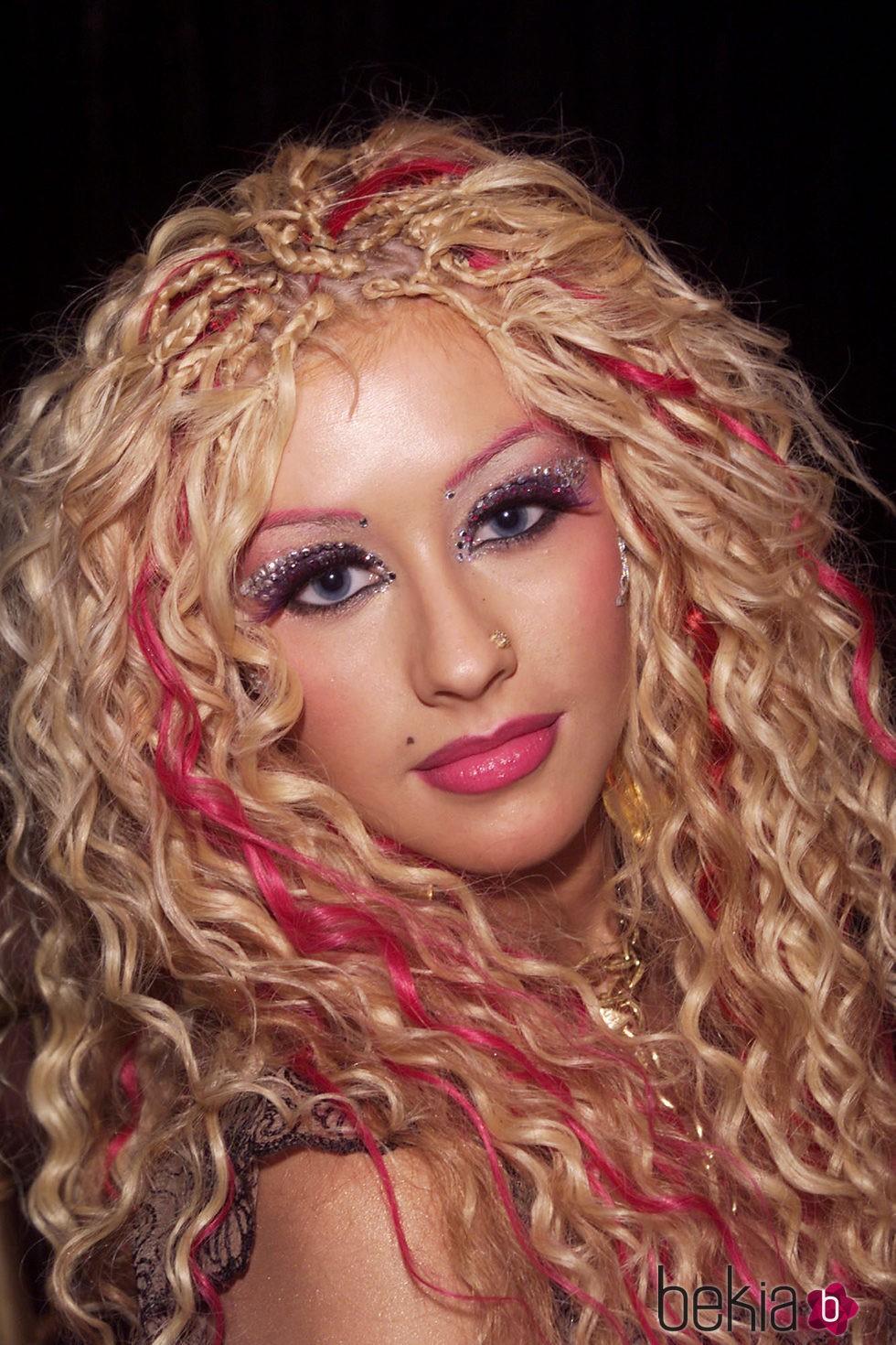 Christina Aguilera en 2001 MTV Movie Awards