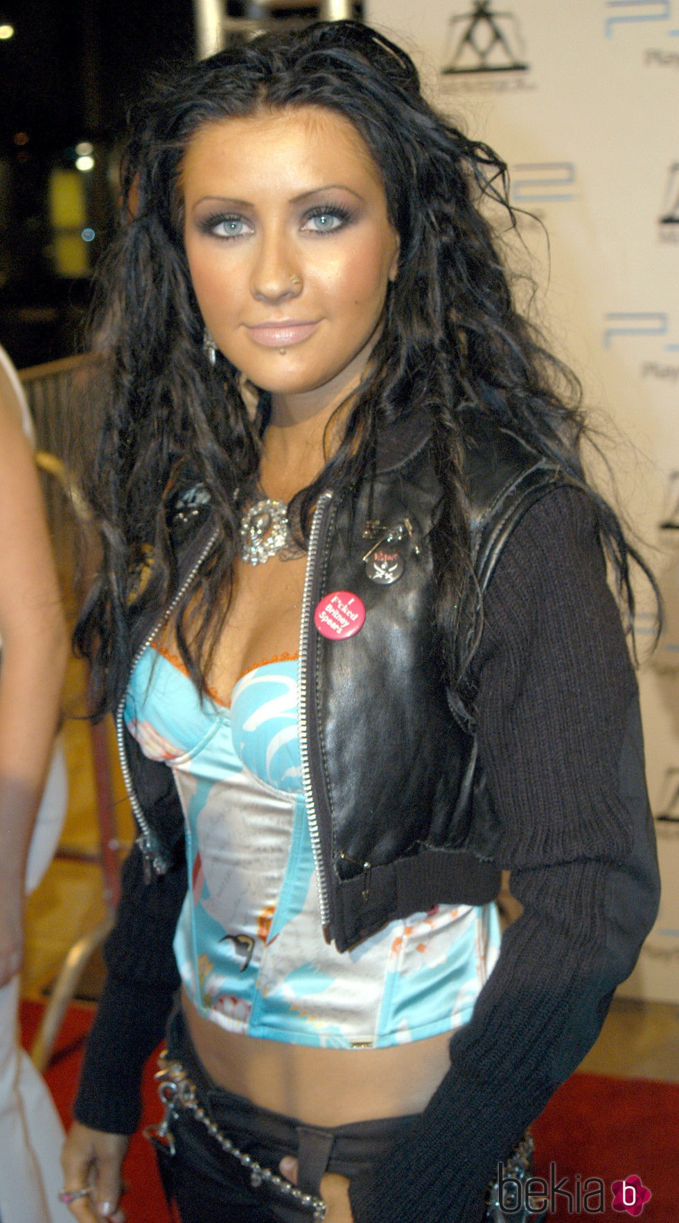Christina Aguilera en 2003 MTV Video Music Awards