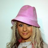 Christina Aguilera en MTV's Spankin' New Music Week en 2003