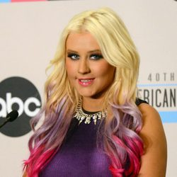 Christina Aguilera en  40th Anniversary American Music Awards en 2012