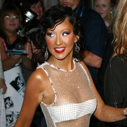 Christina Aguilera en MTV Europe Music Awards 2003