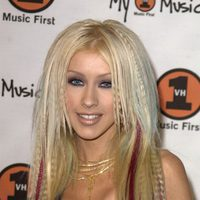 Christina Aguilera en The 2000 My VH1 Music Awards