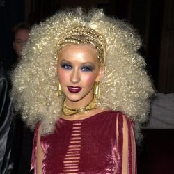 Christina Aguilera en el 7th Annual Blockbuster Entertainment Awards 2001