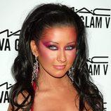 Christina Aguilera en 2004 MAC AIDS Fund VIVA Glam V - After Party