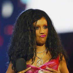 Christina Aguilera en noviembre de 2003