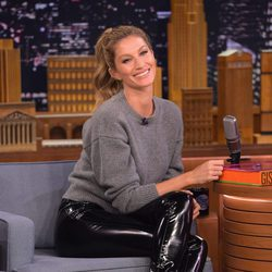 Gisele Bundchen en The Tonight Show Starring Jimmy Fallon