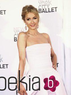 Paris Hilton durante la Gala de primavera de ballet