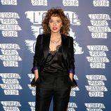 Valeria Golino en la fiesta 'Blue Obssesion' de L'oréal Paris durante el Festival de Cannes 2016
