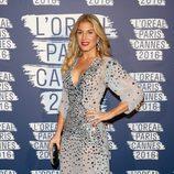 Hofit Golan en la fiesta 'Blue Obssesion' de L'oréal Paris durante el Festival de Cannes 2016
